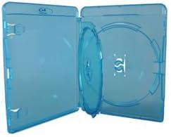 Amaray - Caja doble para Blu-Ray (ancho 14 mm, 10 unidades): Amazon.es: Informática