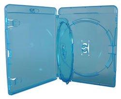 Amaray - Caja doble para Blu-Ray (ancho 14 mm, 10 unidades)