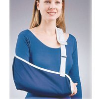 Florida Orthopedics Cradle Arm Sling, Denim, Large by Florida Orthopedics Denim Arm Sling
