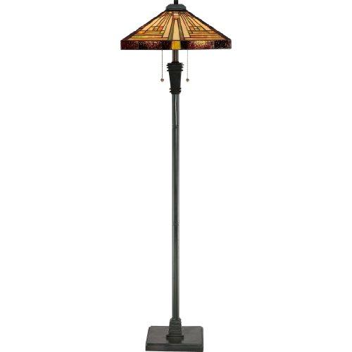 Quoizel TF885F 2-Light Stephen Floor Lamp, 18