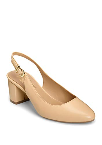 - Aerosoles Women's Silver Age Pump, TAN, 9.5 M US