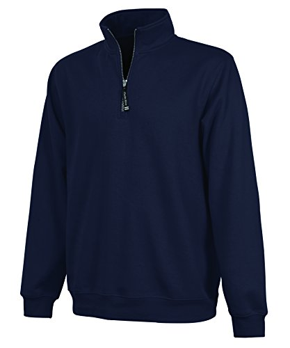 Charles River Apparel Ultra Soft and Cozy Women's Crosswind Pullover Sweatshirt - Navy Blue, X-Large