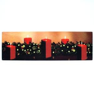 Ohio Wholesale Christmas Classic Lighted Canvas 10' x 34'