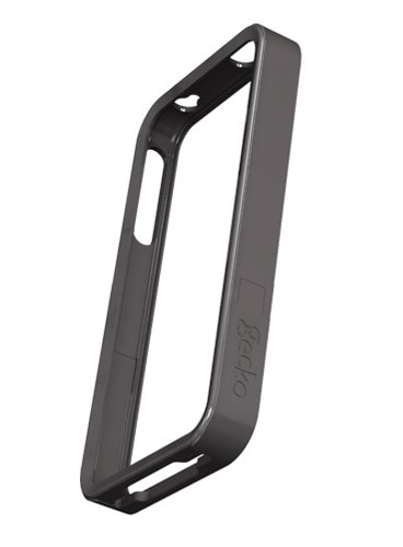 Gecko Gear Australia Edge is raised on either sidefor front and back protection of your iPhone 4 when placed on any flatsurface. Includes a bonus Gecko anti-glare screen guard.