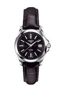 Certina - Wristwatch, Analog Quartz, Leather, Woman 8