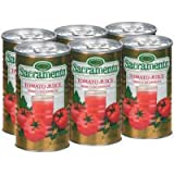 Sacramento Tomato Juice from Concentrate 5.5oz (Pack of 48)