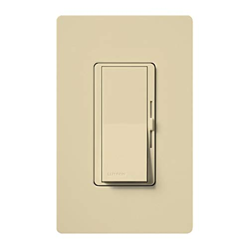 Vollers Ivory Satin - Lutron DVLV-10PH-IV Diva Low Vol 1000W Iv Clm Ivory