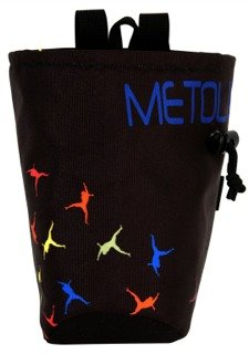 Metolius Chalk Pod Chalk Bag (Falling Clipper) (Bag Chalk Metolius)