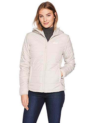 Jack Wolfskin Women's Maryland Jacket, Dusty Grey, Large