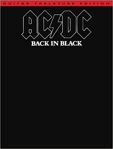 Guitar guitar tabs back in black : Amazon.com: AC/DC - Back in Black - Guitar TAB Songbook: Books