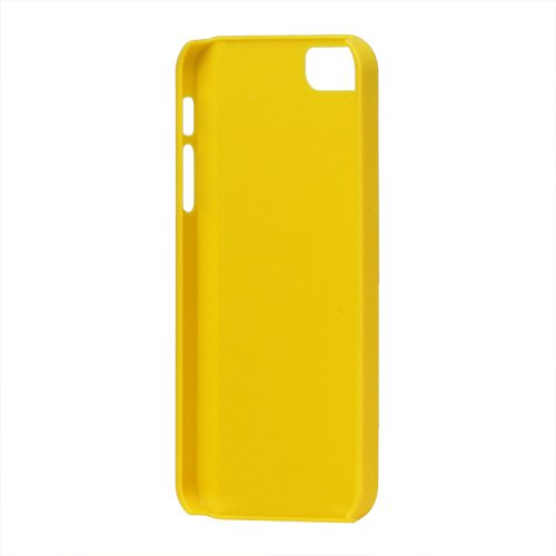 "iProtect Premium Gelcase / Cover / Case / Hülle für Apple iPhone 5 / the new iphone Case GELB in der "" FANCY GLOSSY EDITION"""