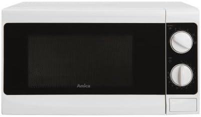 Opinión sobre Amica AMG17M70V Encimera Solo - Microondas (Encimera, Solo microondas, 17 L, 700 W, Giratorio, Color blanco)