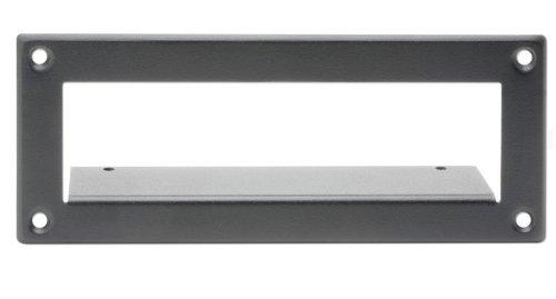 Surface Mount Bezel - 2 RDL EZ-SMB2 Surface Mount Bezel for 1/3 Rack Width EZ Products