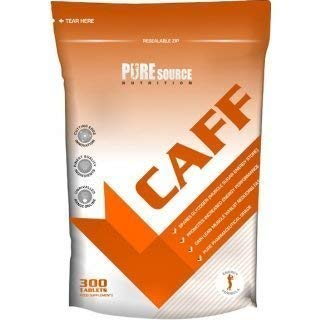 PURE Source nutrion Puro CAFEÍNA Pro 180 COMPRIMIDOS