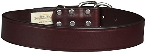 Bama Auburn Tuff Stuff Collar - Burgundy - 1-1/4 x 24 inches