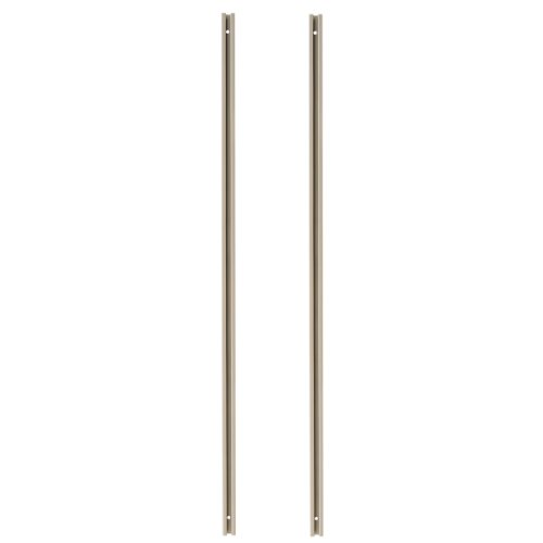 Akro-Mils TV70R 70-Inch Tall Mounting Rail for TiltView Horizontal Plastic Storage System, Beige, Set of 2 by Akro-Mils
