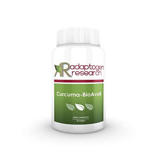 Bio-Curcumin Plus Curcuminoid Proprietary Blend | Bioavailable Curcumin with Turmeric Oil, Sunflower Lecithin, and Vitamin E | 60 Softgels For Sale