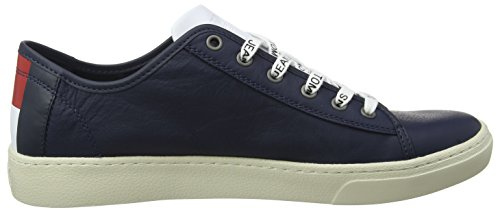 Men Black Ginnastica 431 Low Basse da Iris Denim Blu Uomo Jeans Tommy Hilfiger Scarpe Light Leather OwqTYxUz