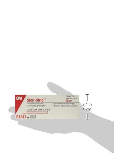 Steri-Strip Adhesive Skin Closures R1541, 50 Bags (Pack of 4)
