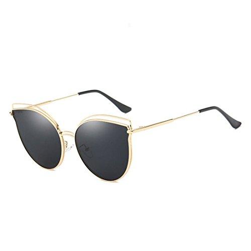 de de Sol A F de Gafas Gato Ojos Sol Espejo de GCC Las Moda Gafas vzf6ppE