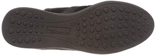 Women's Top Tamaris 23603 Low Black Comb Sneakers 98 21 Black wpwqId