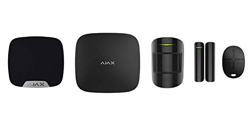 DFS 24/7 Professionally Monitored Security System with Ajax Alarm System – Most Awarded System in The Europe, Inbuilt…