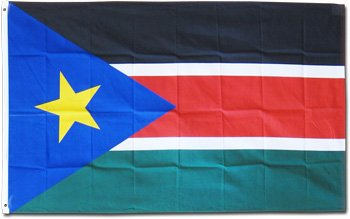 South Sudan - 3' x 5' Polyester Flag