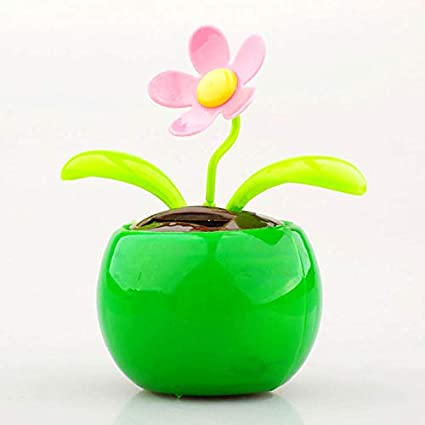 GreenCoves Home Decorating Solar Power Flower Plants Moving Dancing Flowerpot Swing Solar Car Toy Gift Amazon.in Home \u0026 Kitchen & GreenCoves Home Decorating Solar Power Flower Plants Moving Dancing ...