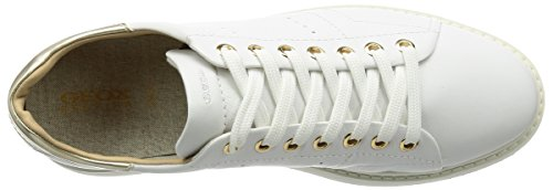 Geox Women's Sneakers D Ophira White Zf7OZW1wn
