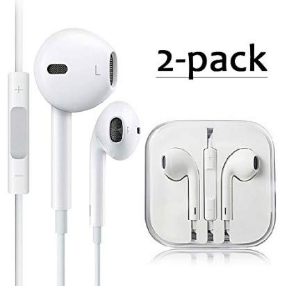 Earphones/Earbuds/Headphones, Premium in-Ear Wired Earphones with Remote & Mic Compatible Phone 6s/plus/6/5s/se/5c/Pad/Samsung/MP3 MP4 MP5,D6