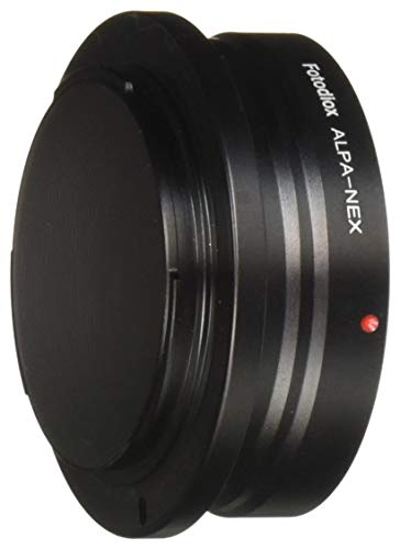 Fotodiox Pro Lens Mount Adapter - Alpa 35mm SLR Lens to Sony Alpha E-Mount Mirrorless Camera Body