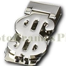 Money Clip, Silver Plated, BB78S
