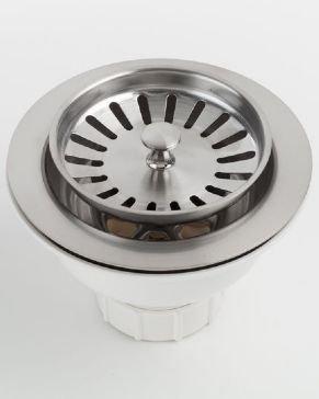 Jaclo 2807-EB Adjustable Lutz Sink Strainer for Kitchen Sinks, Europa Bronze, Europa Bronze