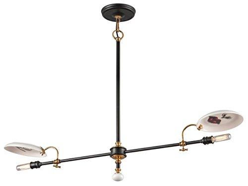 Antique Pendant Light Dark Brass in Florida - 3