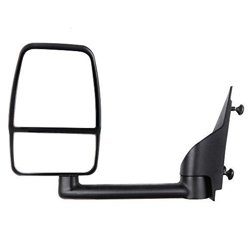 SCITOO Door Mirrors, fit Chevrolet GMC Exterior Accessories Mirrors fit 2003-2011 Chevrolet GMC Express Savana Van 1500/2500/3500/4500 Manual Controlling (Driver Side)