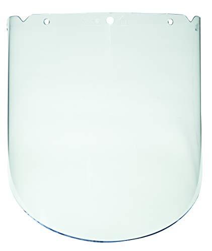 (MSA 10115851 V-Gard Propionate Visor, Molded, 9.25
