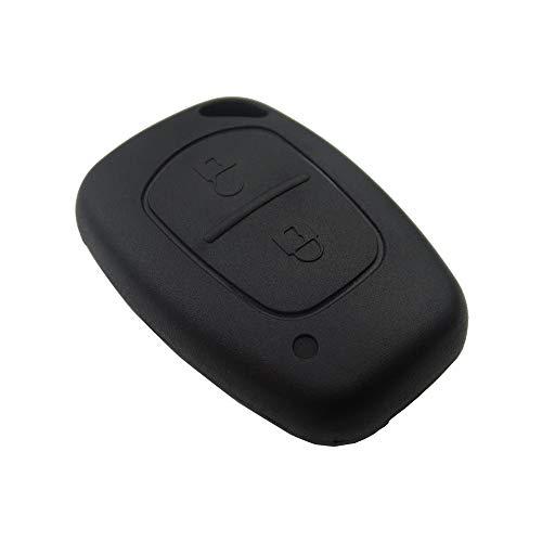 Auto-sleutelhoes 2 Knop Remote Auto Sleutel Shell Case Fob Cover voor Renault Traffic Master Vivaro Movano Kangoo For…