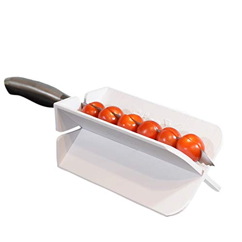 (SLICEX Kitchen Cutting Board and Vegetable Slicing Guide)