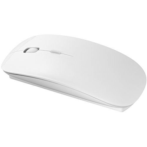Bullet Menlo Wireless Mouse (4.4 x 2.3 x 0.8 inches) (White)