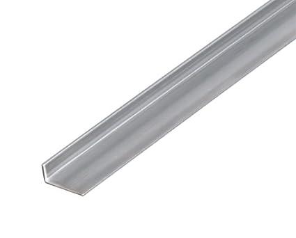 Va de perfil en ángulo de acero inoxidable (2000 mm, 20 x 10 ...