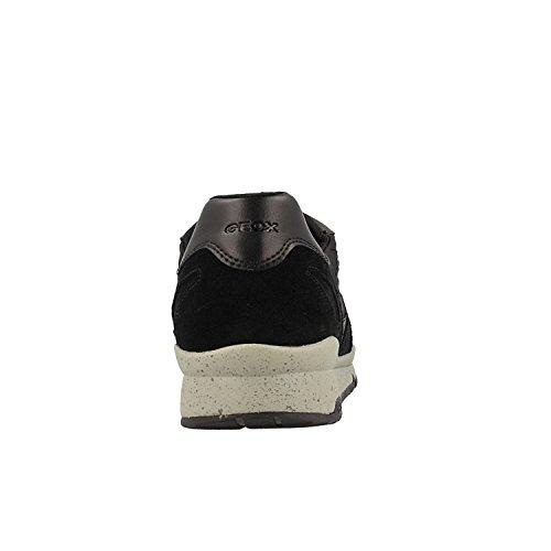 B a U Zapatillas Hombre Black Negro Sandford para C0595 Geox Black ABX 1EIqxOHEw