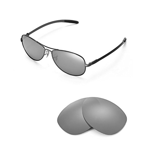 Walleva Replacement Lenses for Ray-Ban RB8301 59mm Sunglasses - Mulitple  Options Available (Titanium 79e4c716fe52