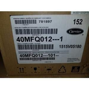 Carrier 40MFQ012-101- 1 TON Single-Zone Indoor Wall Mounted Heat Pump Mini-Split Unit, 15 SEER 115/60/1 R-410A