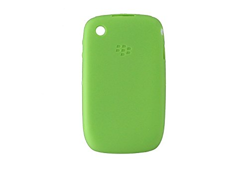 Genuine Blackberry Phone Skin (RIM Skin for Blackberry 8530/9300 - Retail Packaging - Green)