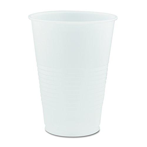 Dart Y14 Conex Galaxy Polystyrene Plastic Cold Cups, 14oz, 50 Sleeve. 20 Bags/Carton