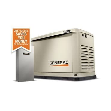 Generac Guardian 20/18KW  Standby Generator w/ Whole House 200-Amp Automatic Transfer Switch Generac (7039)