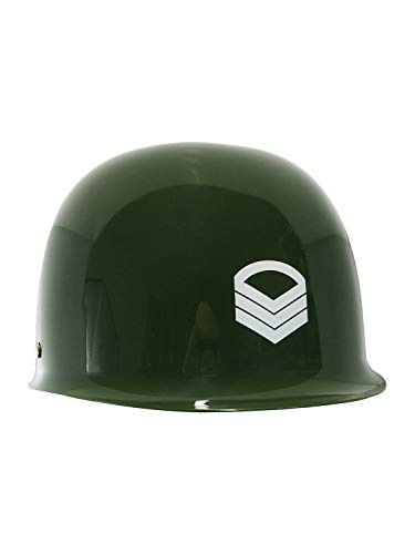 Nicky Bigs Novelties Child Toy Army Helmet, Green, One Size ()