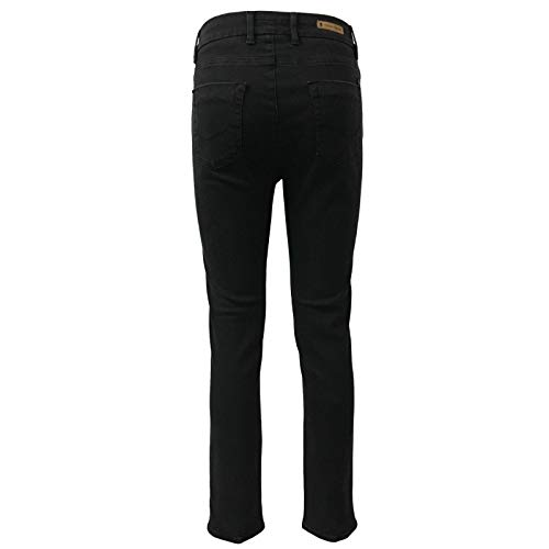113 14 Nero Donna Italy Cigala's Skinny Jeans Vita Made Alta In Atelier Wxn6UqCYH