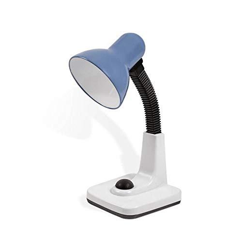 Abajur Luminária de Mesa Colors Azul Dimerizavel 1E27