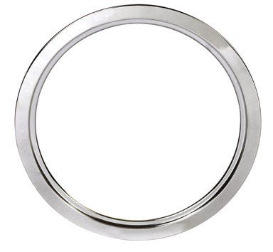 (Stanco Range Trim Ring Fits G.E. & Hotpoint Electric Ranges Chrome Plated Steel, Porcelain 6 In.)